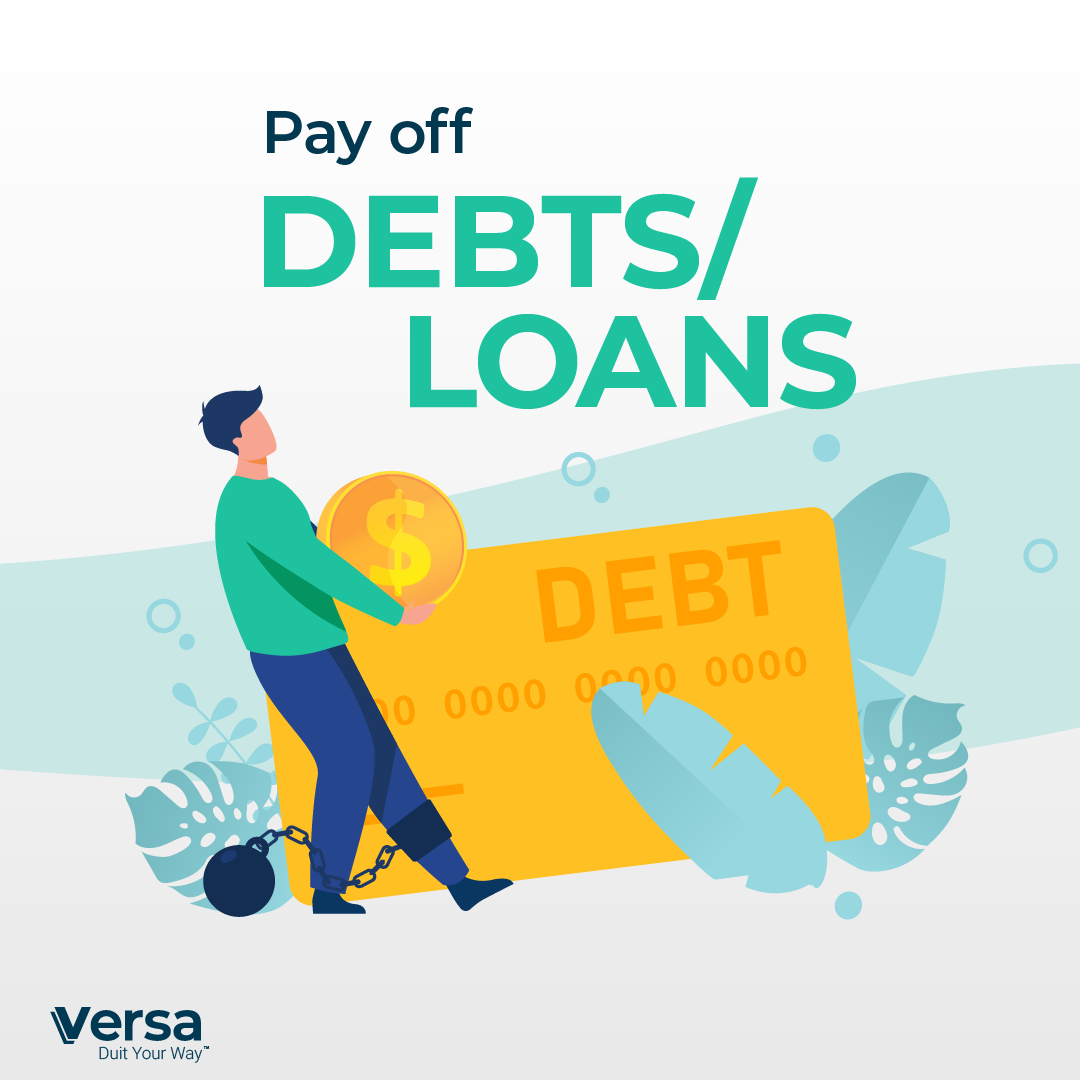 Pay off debts/loans
