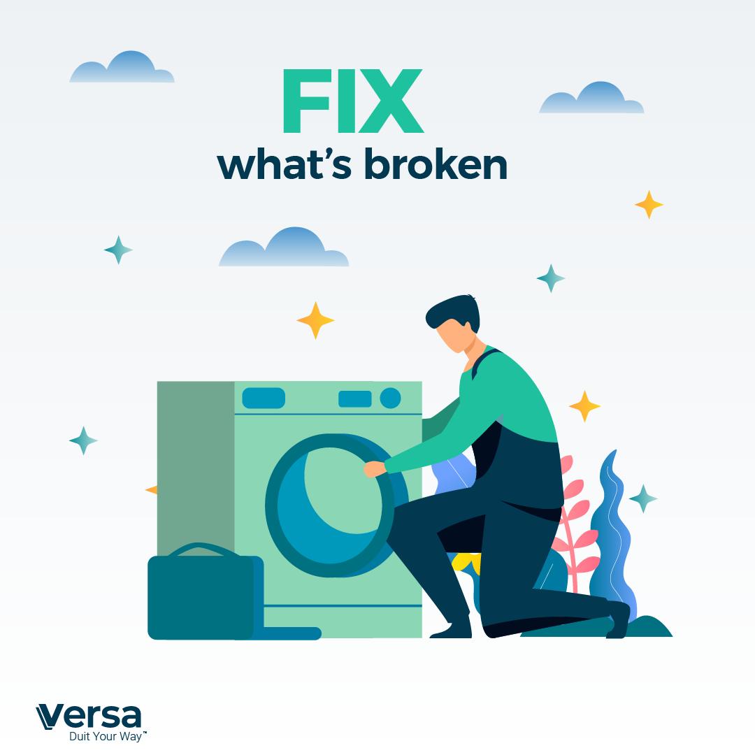 Fix what's broken