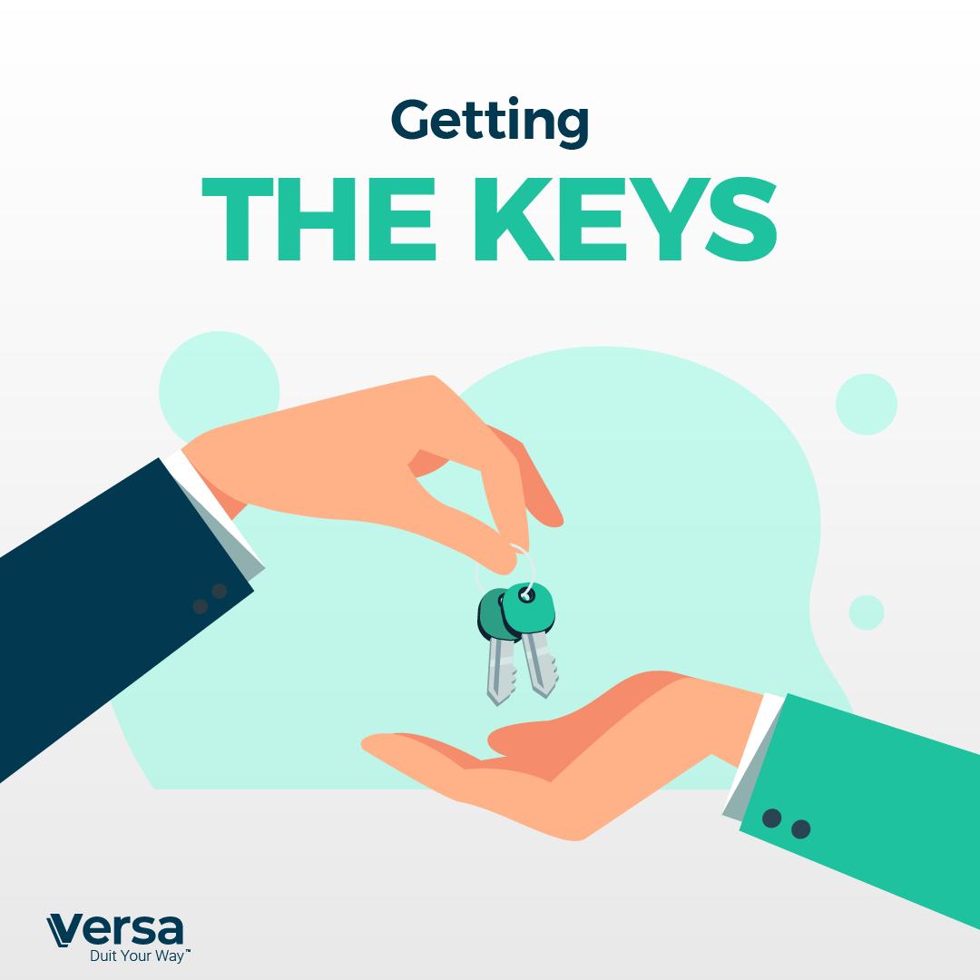 Getting the keys