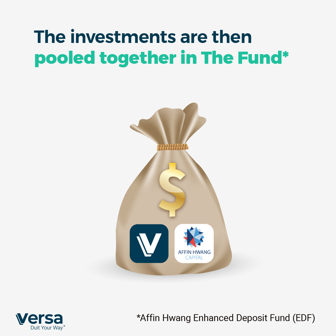 The Investments are then pooled together in the fund